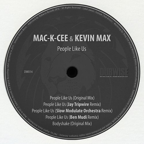 People Like Us by Kevin Max