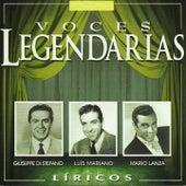Voces legendarias (líricos) (Vol. 1) von Various Artists