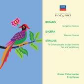 Brahms: Hungarian Dances; Dvorak: Slavonic Dances; R. Strauss: Tod und Verklarung; Till Eulenspiegel by Fritz Reiner