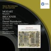 Mozart: Requiem; Bruckner: Te Deum by Daniel Barenboim