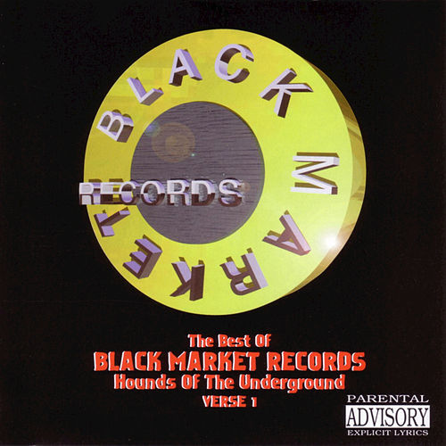 Best Of Black Market Records: Hounds Of Tha... by Various Artists