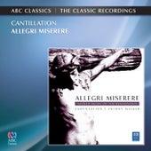 Allegri: Miserere de Various Artists