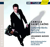 Saint-Saens, C.: Cello Concertos Nos. 1 and 2 / Suite in D Minor / Allegro Appassionato / The Swan de Johannes Moser