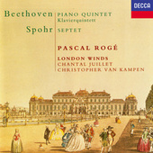 Beethoven: Quintet for Piano & Winds / Spohr: Wind Septet de Pascal Rogé