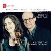 Mendelssohn, Hensel & Sterndale Bennett: Sonatas for Cello & Piano von Benjamin Frith