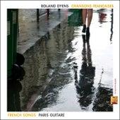 Chansons françaises (Paris guitare) by Roland Dyens