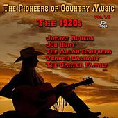 The Pioneers of Country Music, Vol. 1 (The 1920's) by Various Artists