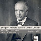 Songs of Richard Strauss, Live in Concert by Dalton Baldwin