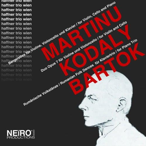 Martinu Kodaly Bartok by Haffner Trio Wien