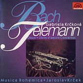 Bach / Telemann: Oboe Concertos by Gabriela Krcková