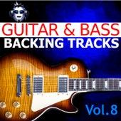 Guitar & Bass Backing Tracks, Vol. 8 fra Top One Backing Tracks