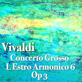 Vivaldi Concerto Grosso L Estro Armonico 6, Op 3 de The St Petra Russian Symphony Orchestra