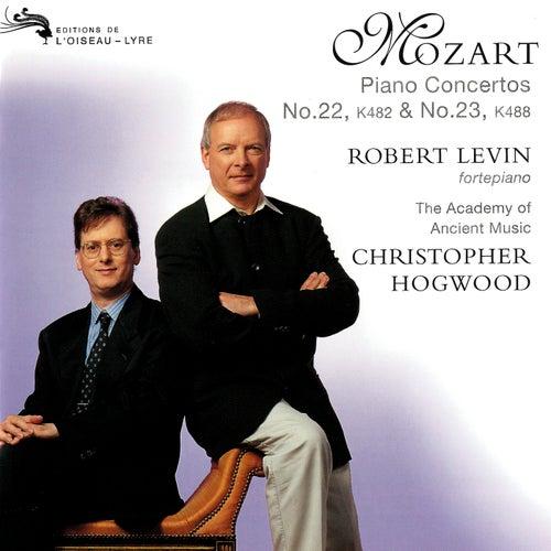 Mozart: Piano Concertos Nos. 22 & 23 by Christopher Hogwood