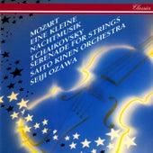 Tchaikovsky: Serenade for Strings / Mozart: Eine kleine Nachtmusik; Divertimento in D by Seiji Ozawa