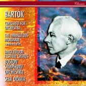 Bartók: Concerto for Orchestra; The Miraculous Mandarin by Seiji Ozawa