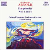 Symphonies Nos. 3 & 4 by Sir Malcolm Arnold