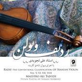 Radif of Iranian Violin by Maestro Ali Tajvidi (Vol. V, VI, VII, VIII) by Shamlu Karband