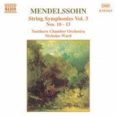 String Symphonies Vol. 3 de Felix Mendelssohn