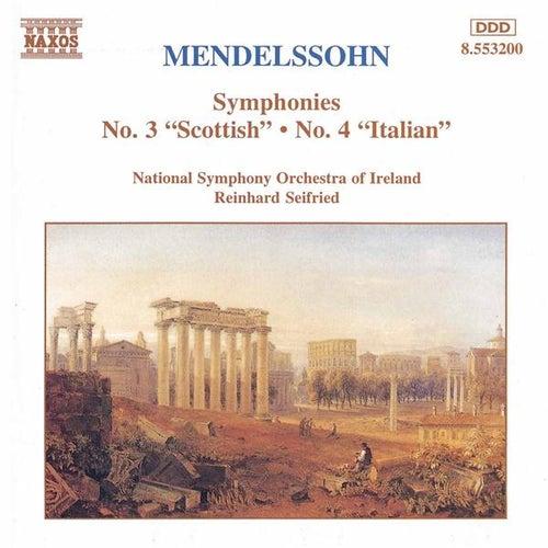 Symphonies Nos. 3 and 4 by Felix Mendelssohn