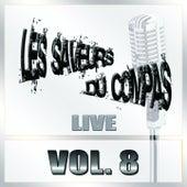 Saveurs du compas, vol. 8 (Live) de Various Artists