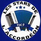 Les stars de l'accordéon, vol. 9 by Various Artists