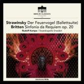 Stravinsky: The Firebird (Ballet suite) - Britten: Sinfonia da Requiem, Op. 20 von Dresden Staatskapelle