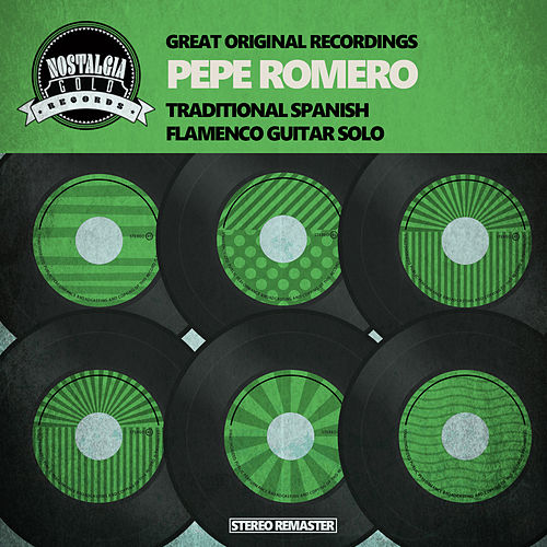 Traditional Spanish Flamenco Guitar Solo by Pepe Romero