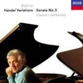 Brahms: Piano Sonata No. 3; Variations & Fugue on a Theme of Handel de Vladimir Ashkenazy