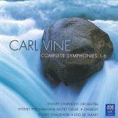 Carl Vine: Complete Symphonies 1-6 von Sydney Symphony Orchestra