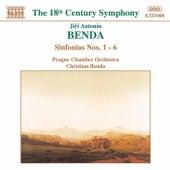 Sinfonias Nos. 1-6 de Jiri Antonin Benda