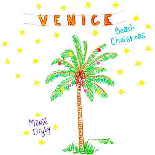 Venice Beach Christmas by Marie Digby