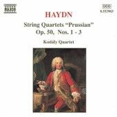 String Quartets Op. 50, Nos. 1-3 by Franz Joseph Haydn