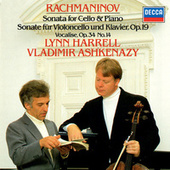 Rachmaninov: Cello Sonata; Romance; Vocalise etc de Vladimir Ashkenazy