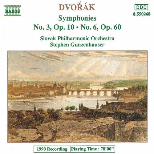 Symphonies Nos. 3 and 6 by Antonin Dvorak