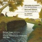Glanert: 4 Präludien und Ernste Gesänge & Weites Land - Brahms: Clarinet Sonata No. 1 by Various Artists