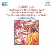 Piano Music by Alfredo Casella