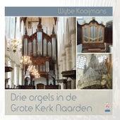 Drie orgels in de Grote Kerk Naarden by Wybe Kooijmans
