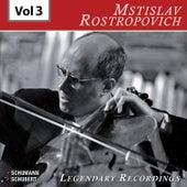 Rostropovich - Legendary Recordings, Vol. 3 de Mstislav Rostropovich