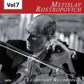 Rostropovich - Legendary Recordings, Vol. 7 de Mstislav Rostropovich