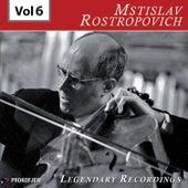 Rostropovich - Legendary Recordings, Vol. 6 de Mstislav Rostropovich