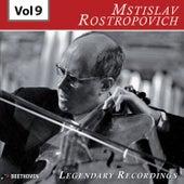 Rostropovich - Legendary Recordings, Vol. 9 de Mstislav Rostropovich
