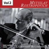 Rostropovich - Legendary Recordings, Vol. 2 de Mstislav Rostropovich