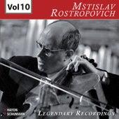 Rostropovich - Legendary Recordings, Vol. 10 de Mstislav Rostropovich