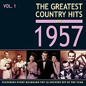 The Greatest Country Hits of 1957, Vol. 1 de Various Artists