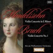 Mendelssohn: Violin Concerto in E Minor - Bruch: Violin Concerto No. 1 by Various Artists