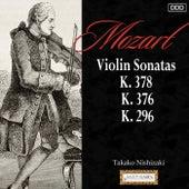 Mozart: Violin Sonatas,  K. 378, K. 376 and K. 296 de Takako Nishizaki