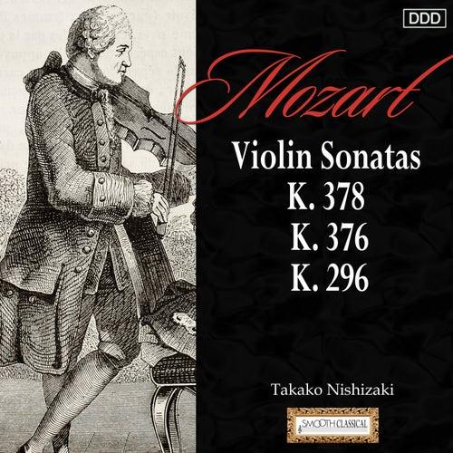 Mozart: Violin Sonatas,  K. 378, K. 376 and K. 296 by Takako Nishizaki