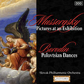 Mussorgsky: Pictures at an Exhibition - Borodin: Polovtsian Dances by Slovak Philharmonic Orchestra and Daniel Nazareth
