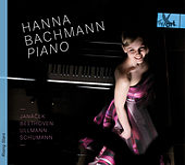 Janáček, Beethoven, Ullmann & Schumann: Piano Sonatas de Hanna Bachmann