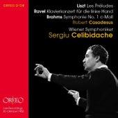 Liszt, Ravel & Brahms: Casadeus by Robert Casadesus